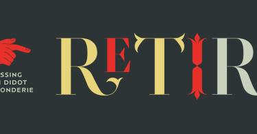 Retiro Super Family [5 Fonts] | The Fonts Master