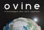 Ovine Monospace [1 Font] | The Fonts Master