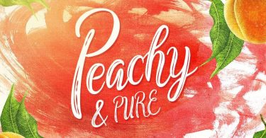 Peachy &Amp; Pure [1 Font]   The Fonts Master
