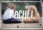 Rachel [1 Font] | The Fonts Master