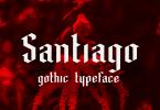 Santiago [1 Font] | The Fonts Master