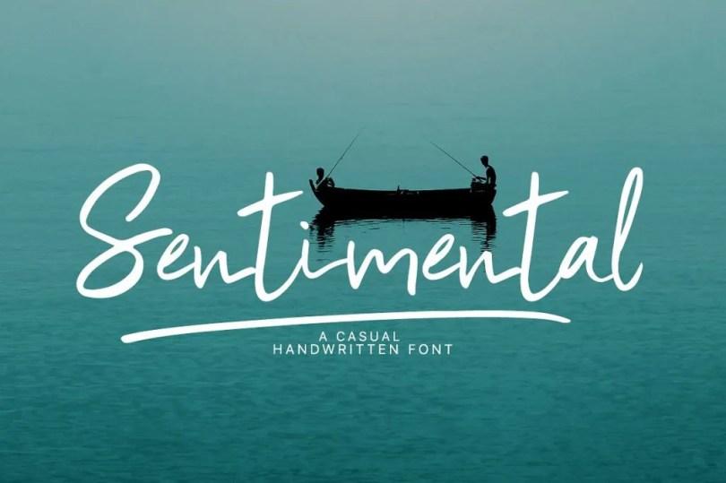 Sentimental [2 Fonts]