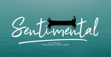 Sentimental [2 Fonts] | The Fonts Master
