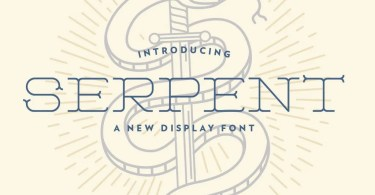 Serpent [1 Font] | The Fonts Master