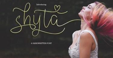 Shyta Script [1 Font]