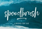 Spoodbrush [6 Fonts] | The Fonts Master