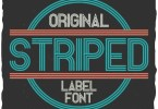 Striped [2 Fonts] | The Fonts Master