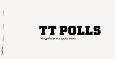 Tt Polls [15 Fonts] | The Fonts Master