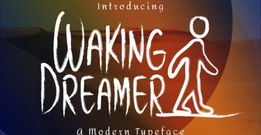 Waking Dreamer [2 Fonts] | The Fonts Master