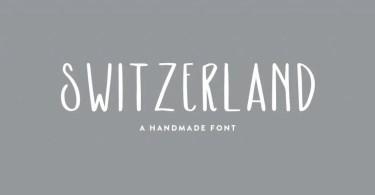 Switzerland [1 Font] | The Fonts Master