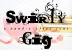 Swirlygig [1 Font]   The Fonts Master