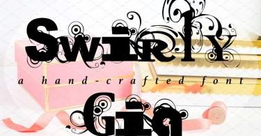 Swirlygig [1 Font] | The Fonts Master