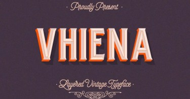 Vhiena [8 Fonts] | The Fonts Master