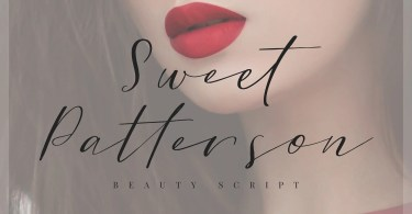 Sweet Patterson [1 Font] | The Fonts Master