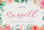 Russell Script [1 Font] | The Fonts Master