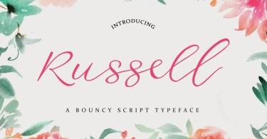 Russell Script [1 Font]