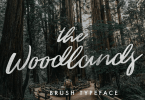 The Woodlands [1 Font] | The Fonts Master