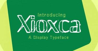 Xioxca [1 Font] | The Fonts Master