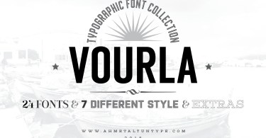 Vourla Font Collection [24 Fonts]