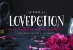The Lovepotion Font Collection [4 Fonts]