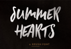 Summer Hearts [1 Font] | The Fonts Master