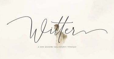 Witter [1 Font] | The Fonts Master