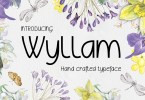 Wyllam [1 Font] | The Fonts Master