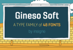 Gineso Soft [48 Fonts] | The Fonts Master