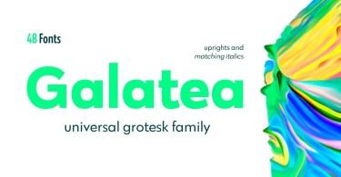 Galatea [48 Fonts] | The Fonts Master