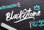 Black Stone Marker [3 Fonts] | The Fonts Master