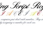 Sterling Script [7 Fonts] | The Fonts Master