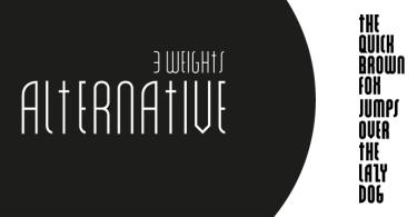 Alt Alternative [3 Fonts] | The Fonts Master