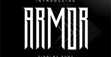 Armor [1 Font] | The Fonts Master