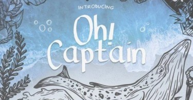 Oh Captain [1 Font] | The Fonts Master