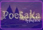 Poesaka [1 Font] | The Fonts Master