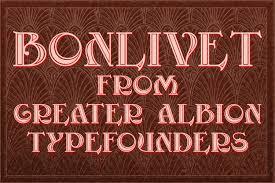 Bonlivet [1 Font] | The Fonts Master