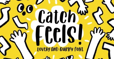 Catch Feels [1 Font] | The Fonts Master