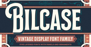 Bilcase [6 Fonts] | The Fonts Master