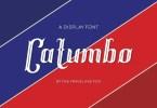 Catumbo [1 Font] | The Fonts Master