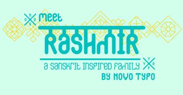 Nt Rashmir [3 Fonts] | The Fonts Master