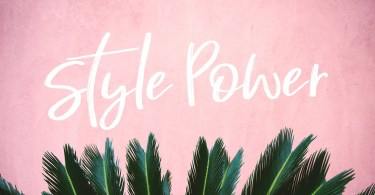 Style Power [1 Font] - The Fonts Master
