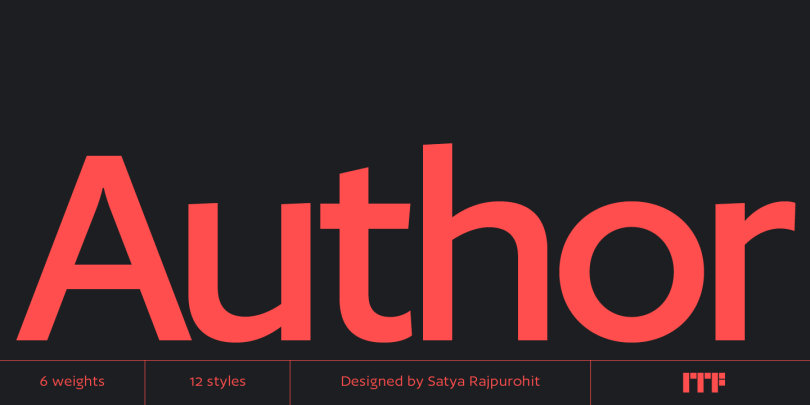 Author Super Family [12 Fonts]   The Fonts Master