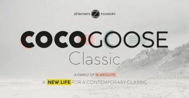 Cocogoose Classic Super Family [16 Fonts] | The Fonts Master