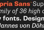 Supria Sans Super Family [18 Fonts] | The Fonts Master