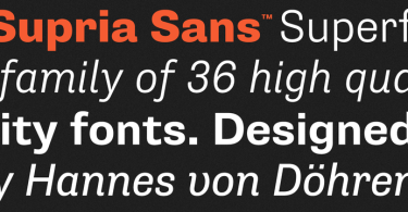 Supria Sans Super Family [18 Fonts] | The Fonts Master