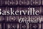 Baskerville Original Pro Super Family [13 Fonts] | The Fonts Master