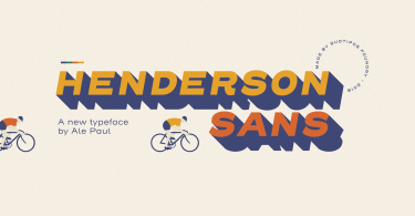 Henderson Sans Super Family [28 Fonts] | The Fonts Master