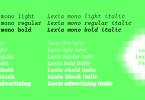 Lexia Mono Super Family [6 Fonts] | The Fonts Master