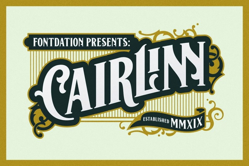 Cairlinn [2 Fonts] | The Fonts Master