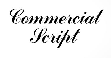 Commercial Script No2 [1 Font] | The Fonts Master